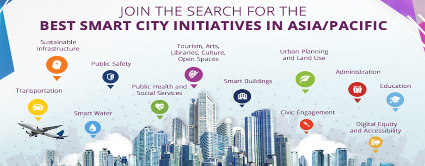 Nominations for the 2018 Smart City Asia Pacific Awards