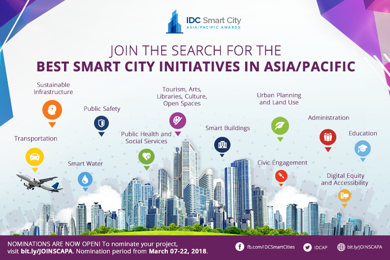 IDC Best Smart City Initiative