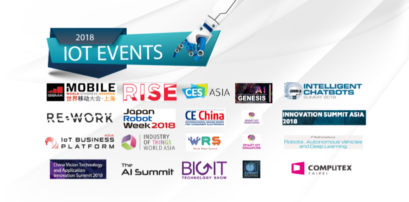 IoT Events in Asia to Attend in 2018