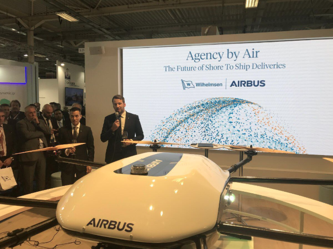 Airbus collaborates with Wilhelmsen