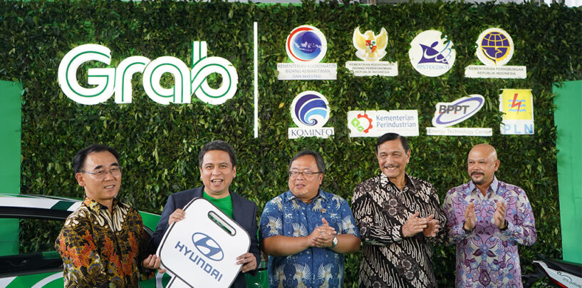 Grab and Indonesian Government Go Full Speed Ahead With Electric Vehicle Ecosystem Roadmap